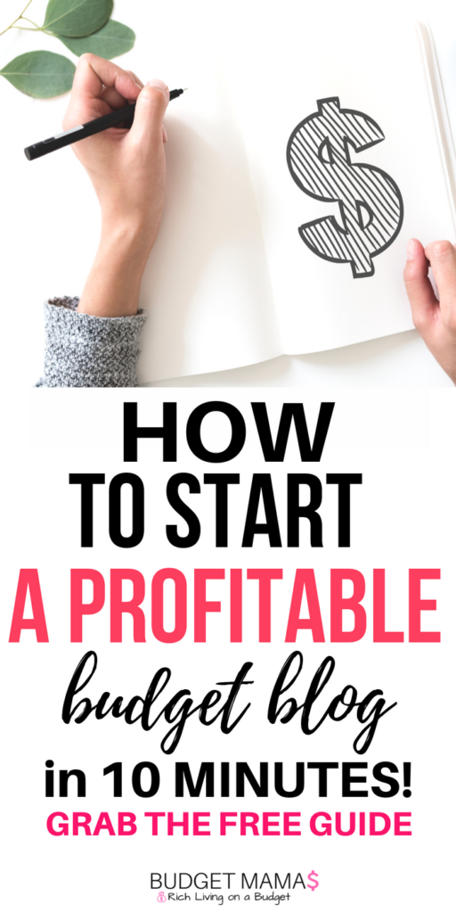 How to start a profitable personal finance blog in 10 minutes